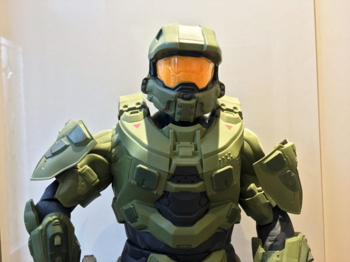 This is Master Chief.